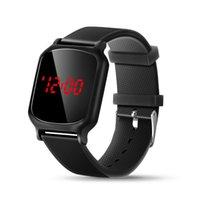 Wristwatches Men's Digital Watch Waterproof Wrist Watches For Men HD Screen Square Dail Sport Bracelet Boy Alarm Clock