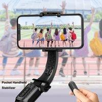 4 em 1 estabilizador Handheld Gimbal Selfie Triphod BT Alumínio para Smartphone Telefone