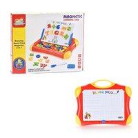 Письменная доска магнитный рисунок доска планшет роспись игрушки ребенка красочный набор детей алфавит номер дети образовательный творческий подарок