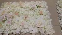 Decorative Flowers & Wreaths Artificial Silk Rose Flower Wall Arch For Home Party Wedding Decoration Mat Backdrop Hanging Panel