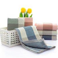 Pure Cotton Serviette Designer Jacquard Pink Luxe Bleu Green Soft Wash Bain Maison Absorbant Hommes et Femmes Widfs