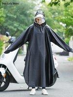 Raincoats Trench Coat Women Raincoat Motorcycle Thickened Men Rain Poncho Jacket Waterproof Clothing Women's Long Cloak Gift Ideas