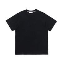 CP Topstoney 2021 새로운 남성용 인쇄 편지 코튼 티셔츠 간단한 둥근 목 짧은 소매 캐주얼 솔리드 컬러 탑