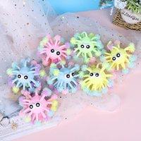 5-calowe zabawki Fidget Zabawki Wypukłe Eye Luminous Hedgehog Multi-Head Octopus Glowings Hed Sea Urchin LED świecące zabawki