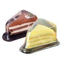 Scatola di imballaggio della scatola di imballaggio del bigné del cupcake 50 set per la decorazione del partito del contenitore del contenitore del panino del panino di formaggio