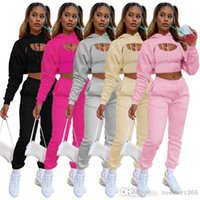 Fashion Woman Three Piece Suit With Fleece Drawstring Hoodie Cotton Vest And Jogging Pants Trousers 3 Piece Set For Plus Size Women Clothing