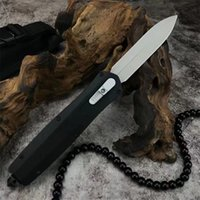 Specail Offer Automatic Tactical Knife 3Cr13Mov Double Action Blade Stainless Steel Handle EDC Pocket Knives With Nylon Sheath