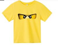 Moda Yaz çocuk giyim pamuk erkek kız t-shirt legoe ninjago karikatür çocuklar tee kısa kollu 4-16y t-shirt tops