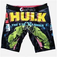 Aléatoire 19-34 Styles Ethika Hommes Boxers Sous-vêtements rapides Sous-vêtements pour hommes Boxers Sports Boxers Sous-vêtements Hip Hop Street Street