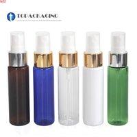 50pcs * 30ml pompa spray pompa dell'animale domestico bottiglia vuota contenitore cosmetico del contenitore di plastica profumo di plastica riutilizzabile imballaggio nebbia atomizzatore anodizzato alluminumhigh qualità