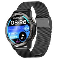 Smart Watch Men Clock Medical Grade ECG PPG Lung Health Respiration Rate Ture Blood Oxygen Thermometer Fitness Tracker Call Reminder Smartwatch Sport Watches Women