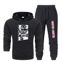 Men's Tracksuits Casual Men Sets Clothing Fashion Tracksuit Sportsuit Hoodies Sportswear Hooded Sweatshirt+Pant Pullover Two Piece Set