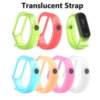 Banda del reloj de la correa de la pulsera de silicona de cuero para MI 3 BAND Smart Watch Pulseras Fitness Xiaomi 3 SmartBand Strap de cuero