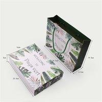 ورقة هدية مربع الحلوى ملفات تعريف الارتباط كعكة مربع مع حقيبة الزفاف لصالح هدية حقيبة حزب ديكور CCF7665