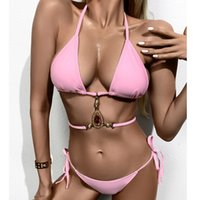Swimwear for Women Maternity Clothing Letter Pattern Print Sexy Summer Two Pieces Swimsuit Sale Women's Fashion Bikinis Bathing Suit