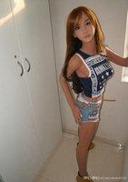 Bambola del sesso del torso di alta qualità 152cm, bambola di amore del silicone della dimensione reale della vita con la bambola del seno del seno grande della vagina bambola del sesso per gli uomini