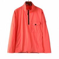 2021 fw konng gonng spring and autumn styles headgear high hooded jacket european style mens coat 113wn half zip overshirt b3xQ#