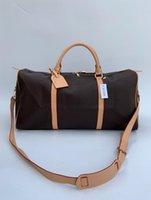 50см мода кожаные сумки мужские женские туристические сумки большой емкости держатель багажника багажник сумка с замком серийного номера