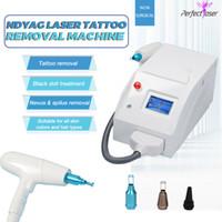 2021 Sobrancelha Tatuagem Remoção Nd Yag 1064nm 1320nm 532nm ND Yag Laser Q-Switch Tatuagem Pigment Remoção Máquina Portátil