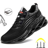 Boot Shoes Safety Steel Nose Men Work Sneakers indestructible For 's 0802