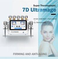 المحمولة 7D Ultraformers III 3 التجاعيد إزالة الجسم تشكيل وفقدان الوزن آلة الجمال 7D hifu