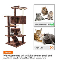"52 ""Cat Tree Tower Condo Мебель царапина Сообщение Kitty Pet Jllmjg Autbag2007"