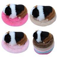 Kleines Haustier Runde Weiche Fleece Matte Hamster Käfige Guinea Schwein Winter Warm Bett Schlafende Bett Matte Runde Schlaf 1