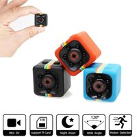 Mini webcams HD 1080p Sensor Visión nocturna Videocámara Motion DVR Micro Cámaras Deporte DV Video Pequeña cámara Cam SQ11