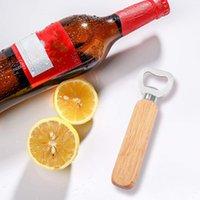 أدوات فتحات زجاجة المطبخ مقبض خشبي البيرة الفتاحات شريط أدوات الصودا بيرة زجاجة قبعة قبعة النبيذ فتاحة زجاجة أداة 120 قطع