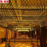 صافي الصمام سلسلة أضواء 8 مولات 220 فولت 220 فولت 1.5x1.5 متر 3x2m مهرجان عيد الميلاد الديكور السنة الجديدة حفل زفاف مقاوم للماء