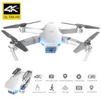 E59 4K Kamera WiFi FPV Mini Anfänger Drohne Spielzeug, Track-Flug, Höhenhold, One-Button-Rückkehr, Geste nehmen Foto, Weihnachtskind-Geschenk, 3-1