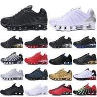 TL Shox men running shoes des chaussures outdoor trainers Triple Black White Silver Speed Red Dark Blue mens Zapatillas sports sneakers