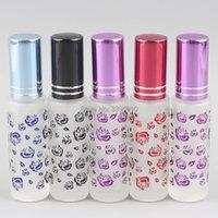 Storage Bottles & Jars 10ml Portable Frosting Glass Perfume Bottle Empty Spray Box Travel F894