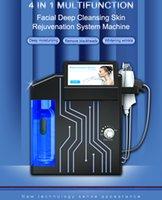 Çok İşlevli 4 1 Elmas Mikrodermabrazyon Akne Skarları Yüz Yüz Bakımı Hidroforik Makinesi Hydra Dermabrazyon Güzellik Makineleri