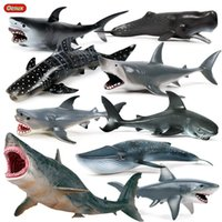 Five different simulated marine models giant shark Wholesale Ocean Animal Educational Learning Toy For Kid Gift