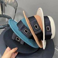الصوف كاب مصمم دلو قبعة أزياء الرجال النساء جاهزة القبعات عالية الجودة قبعات الشمس القش