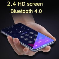 & MP4 Players MP3 Player With Bluetooth 4.2 And 2.4 Screen Touch Keys Hifi Fm Radio Mini Sport MP 3 Music Portable Metal Walkman