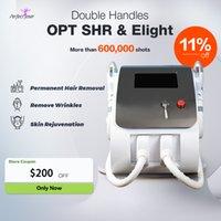 SHR IPL Laser Machine Super Fast Opt Depilazione permanente permanente e ringiovanimento della pelle per uso medico per il salone di bellezza