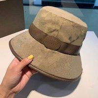 Casquette de chapeau de godet de mode pour hommes Femme Baseball Casquettes Bonnet Casquettes Seaux Fisherman Seaux Chapeaux Patchwork Haute Qualité Summer Sun Visor