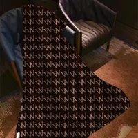 Роскошные буквы цветочные шерстяные одеяло модный домашний офис флис кондиционер шали мягкие кашемировые одеяла сна для взрослых детей