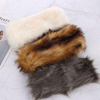 Beanie Skull Caps Faux Fur Headband Women Winter Hats Warm Bomber Fluffy Russian Earmuff Girl Outdoor Ski Snow