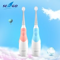 SeaGo فرشاة الأسنان الكهربائية لمدة 1-3 سنوات طفل ذكي تتحرك للماء سونيك فرشاة التنظيف الفموي الإلكترونية فرشاة الأسنان 210310