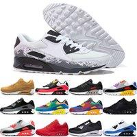 Max 90 95 97 98 270 2018 Yeni Yastık 90 KPU Erkekler Kadınlar Spor ayakkabı Yüksek Kalite klasik Sneakers Ucuz 11 renkler Spor koşu Ayakkabıları Boyutu 36-46
