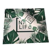 Nail Art Kits Hand Pillow Cushion Polish Holder Soft Pu Leather Sponge Arm Rest Stripe Design Salon Manicure