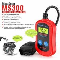 Инструменты для чтения кода Сканирование AUTEL MAXISCAN MS300 OBD2 Reader Reader Отключить проверку двигателя Свет SMOG