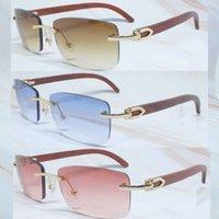 Ienbel 2020 21s de los hombres gafas de las 21s de las mujeres con flecos de la mujer Búfalo de la búfalo de los búbos de cristal del diseñador de gafas de sol Sombras Gafas The Sun Mujer 21ss