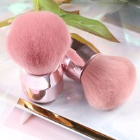 Popular Round Small Flower Brush Nail Paint Gel Dust Cleaning Brushes Make Up Brush-Nail Art Manicure Tool