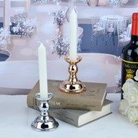 Porte-bougie imuwen style nordique de style bouge de chandelier Lantern Table de table délicate pour la décoration de la fête à la maison IM763
