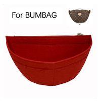 Pour Bumbag Taille Feutre Insert Insert Sac Organisateur Fanny Pack Sac Femme Maquillage Stockage Cosmétique Sac-Premium (Handmade / 20) 210305