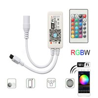 Dimmers Smart WiFi Controller,RGB Color Changing Wireless Remote Control,from Anywhere Compatible with Alexa Google Home Voice Command Control In Stock